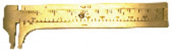 Pocket Brass Slide Caliper