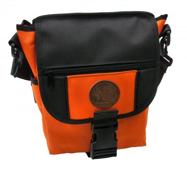 Seiltasche orange/schwarz