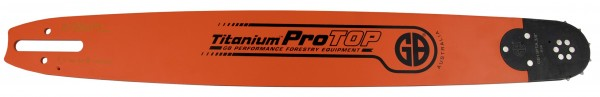 "GB Titanium ProTOP Guide Bar .325"",1.6 mm, 45 cm"