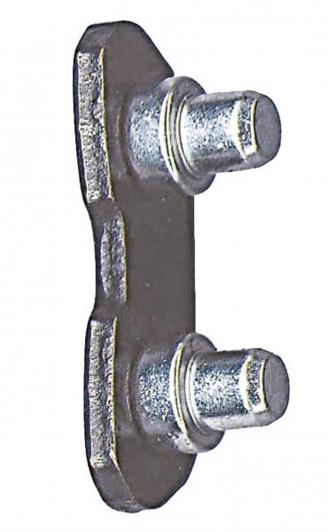 Connecteur de chaîne avec rivet
