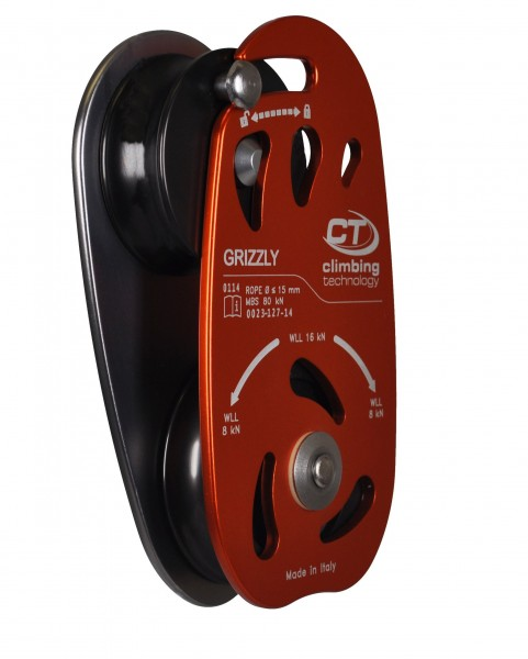 Seilrolle Grizzly, 80 kN