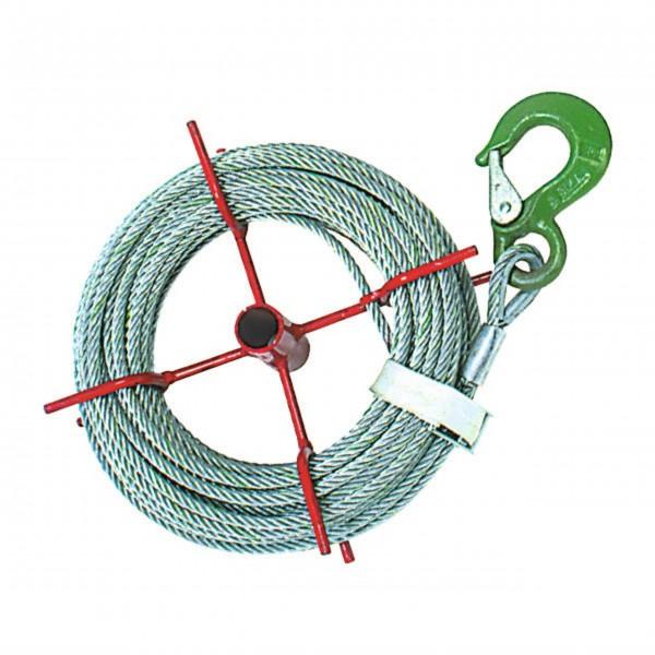 20 m Zugseil - 8,4 mm ø - für Seilzug HIT 10 Nr. 43-002