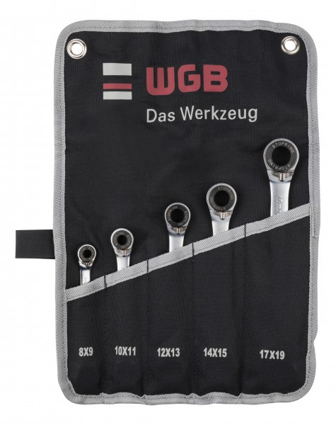 WGB Double Ring Ratchet Gear Wrench