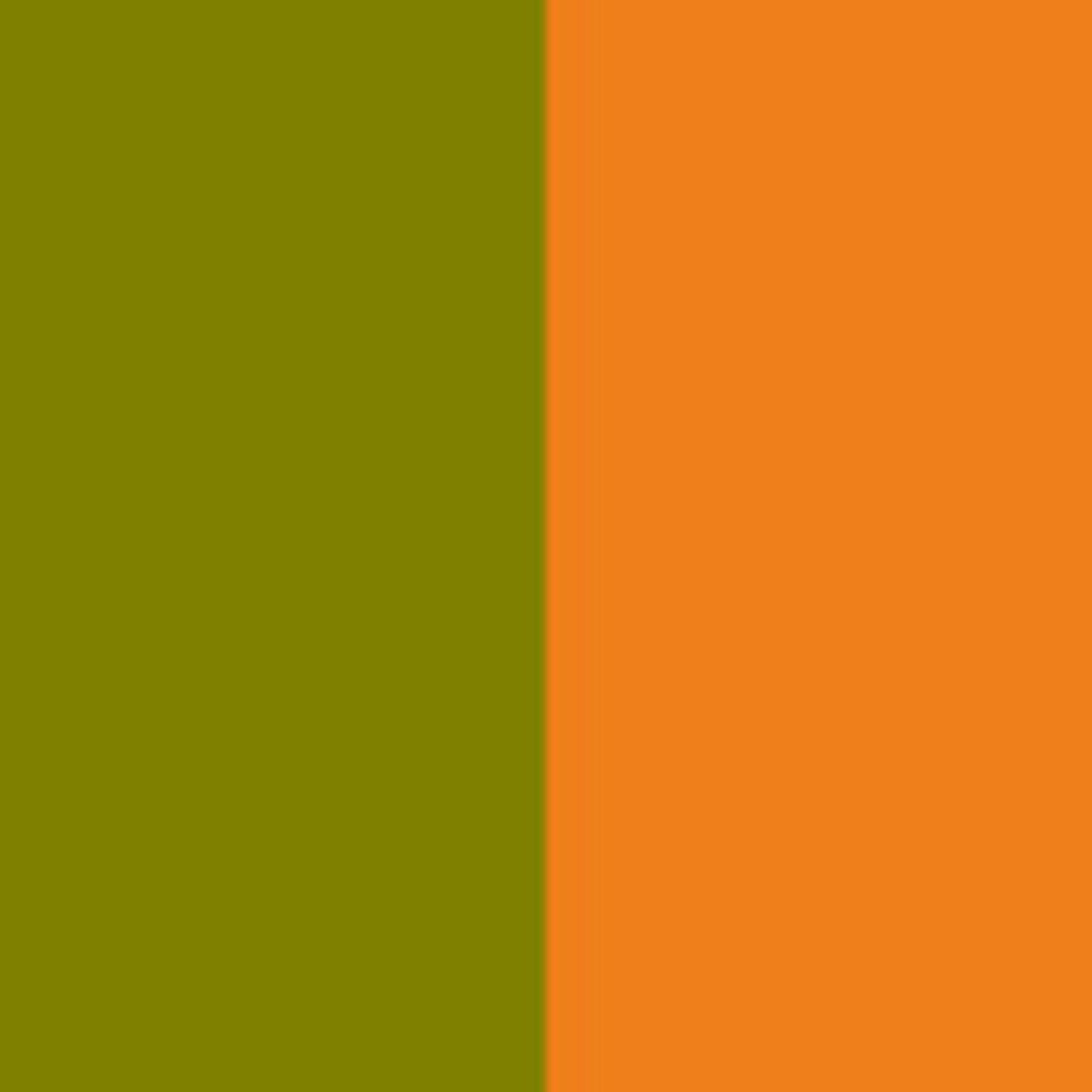 Oliv/orange