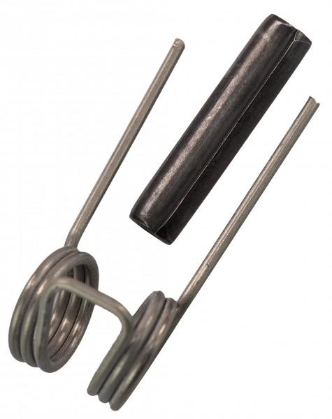 Feder und Splint für Wirbelhaken Nr. 41-408