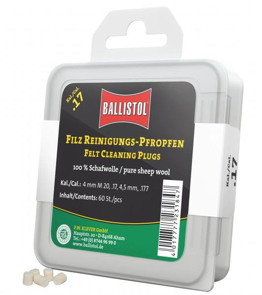 Ballistol Filz-Reinigungs-Pfropfen Klassik