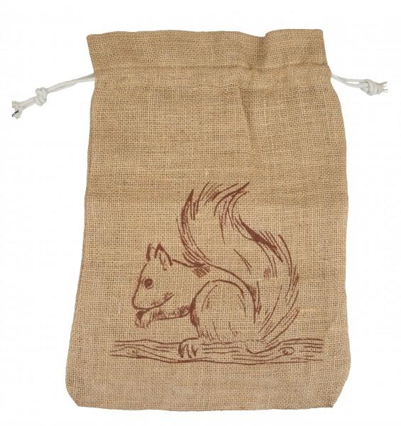 Jutebeutel Eichhörnchen