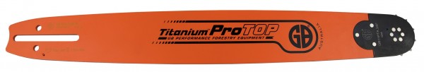 "GB Titanium ProTOP Guide Bar 3/8"", 1.5 mm, 45 cm"