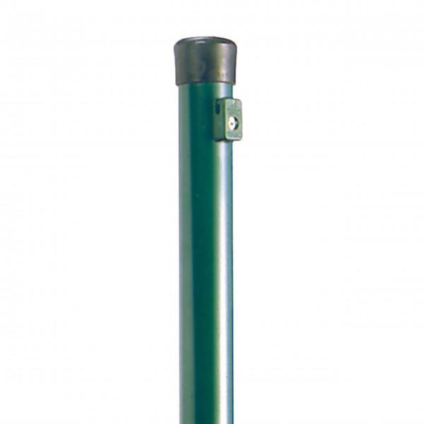 Zaunpfähle, verzinkt, grün beschichtet