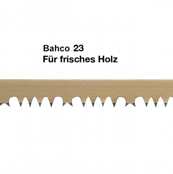Replacement blade Bahco 23 for green timber, 530 mm