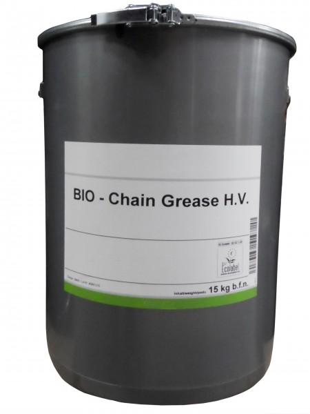 Bio Ketten-Schmierfett 15 kg Eimer