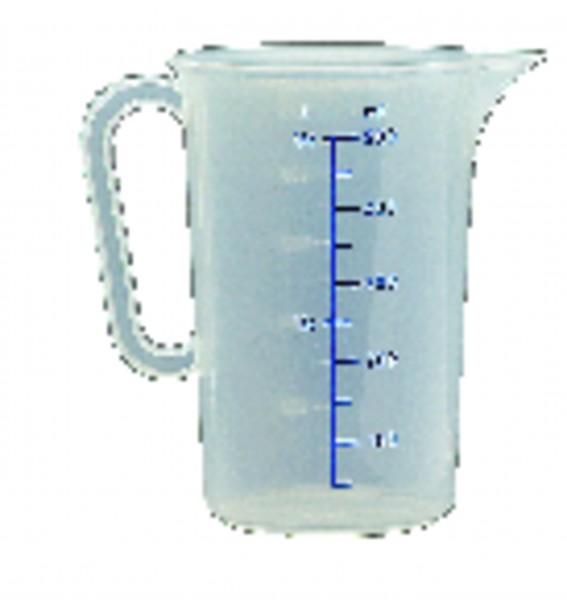 Bidon de mesure en polypropylène