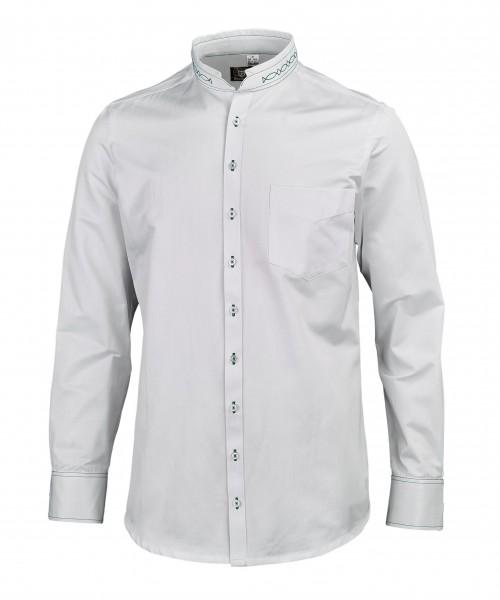 OS-Trachten Herren-Langarmhemd, Slim Fit