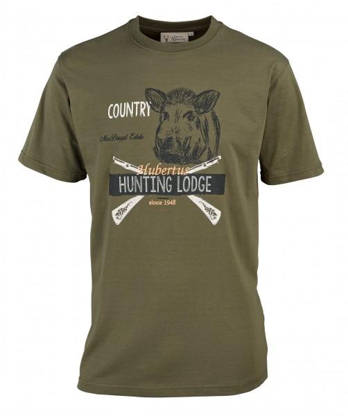 Hubertus Herren-T-Shirt Hunting Keiler