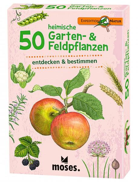 Moses Kartenspiel 50 heimische Garten- und Feldpflanzen