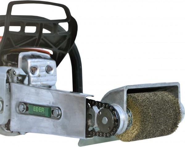 Eder Rundbürste-Anbaugerätekopf für Kettenantrieb