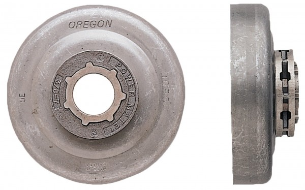 Oregon Powermate-Kettenrad für Stihl Motorsägen, komplett mit Zahnkranz