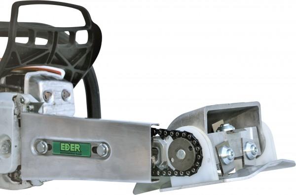Eder Rundhobel-Anbaugerätekopf für Kettenantrieb