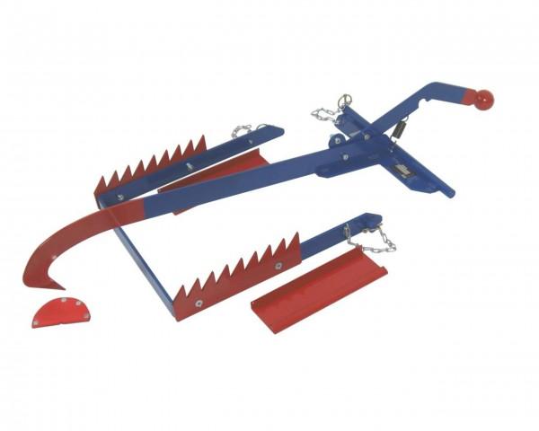 Stammholz-Anbausatz für Hebel-Transportkarre Goliath