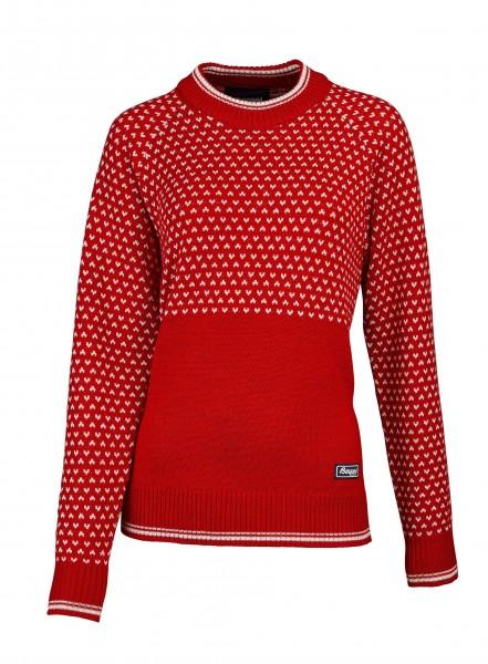 Bergans Damen-Pullover Alvdal