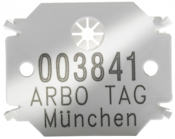 Plaquette Arbo Tag Standard