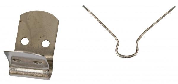 Fastening clip, long