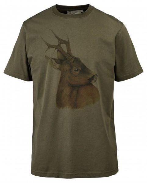 Hubertus Herren-T-Shirt Rehbock