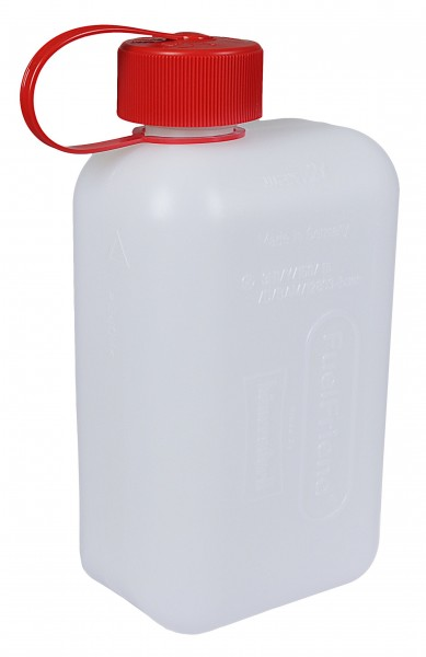 Clear Plastic Canister, 2 litre