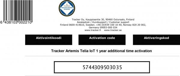 Aktivierungslizenz für IoT-SIM