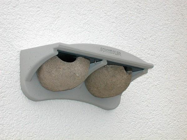 Mehlschwalben-Fassadennest Nr. 11