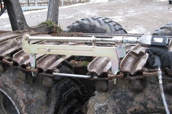 Mechanical Tensioner for Tracks