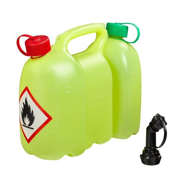 Combi Fuel & Oil Cannister PROFI 6+3