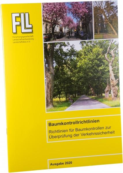Broschüre Baumkontrollrichtlinien 2020