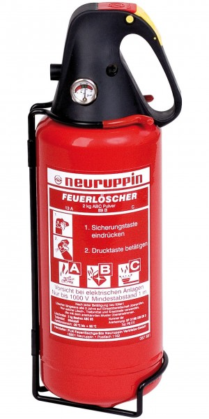 Portable Fire Extinguisher PG 2 E