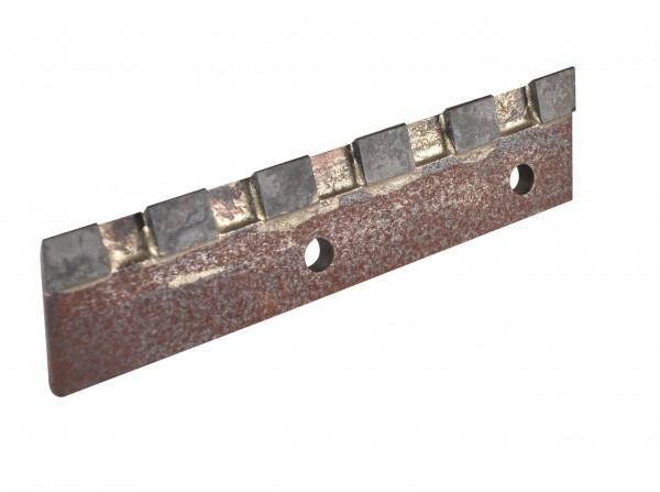 Ersatzmesser aus Hartmetall mit gezackter Schneide