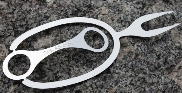Broche et couteau Doro