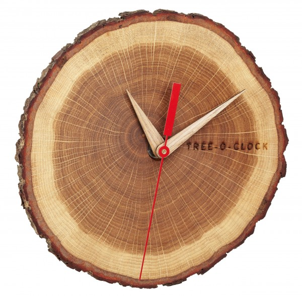 Wanduhr Tree-o-clock