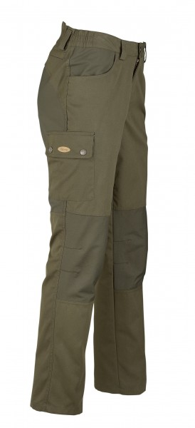 Hubertus Herren-Canvas-Outdoorhose Stretch