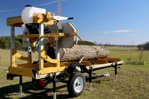 Frontier Sawmill Trailer System