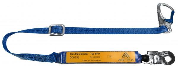 Verbindungsmittel mit Bandfalldämpfer, längenverstellbar – EN 354/EN 355