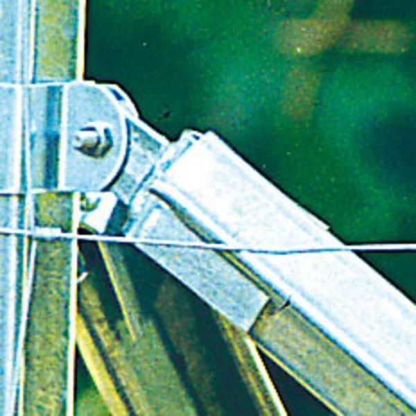 Verstrebungsset für Z-Pfahl – Kappe