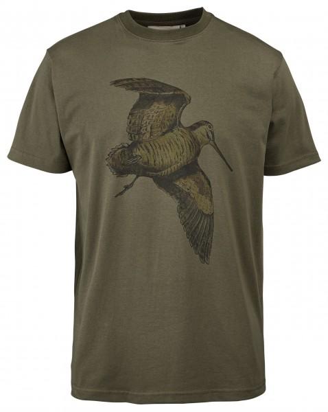 Hubertus Herren-T-Shirt Schnepfe