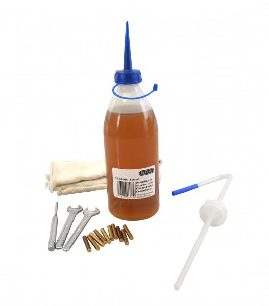 Werkzeug und Schmiergerät