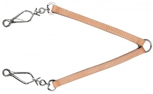 Leder-Koppel zum Führen von zwei Hunden