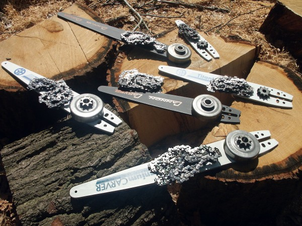 Carving Set for Husqvarna Farmer and Profi Chainsaws