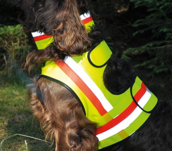 Hundewarnweste - Größe M (Kleinere Stöberhunde)