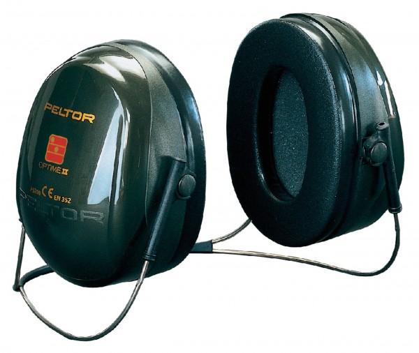 Peltor Gehörschutz Optime II mit Nackenbügel (H520B)