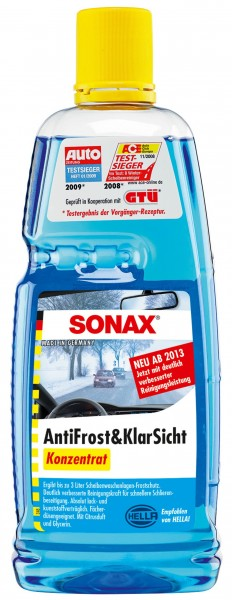 Sonax AntiFrost & KlarSicht, Konzentrat