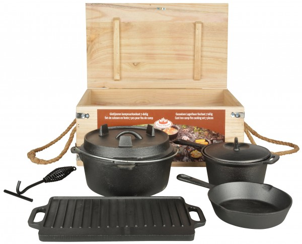 Dutch Oven Set 7-teilig