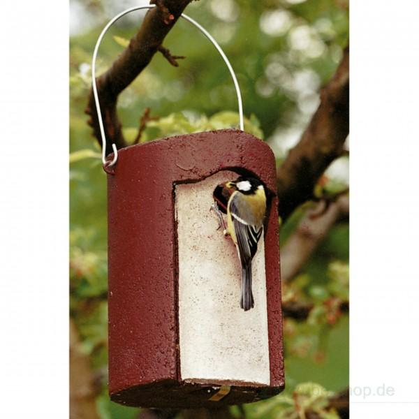 Trou de nid à trou pour oiseau en béton pour bois 1B, trou ovale